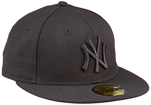 New Era Mlb Basic Ny Yankees 59 Fifty Fitted Black - casquette de Baseball - Homme