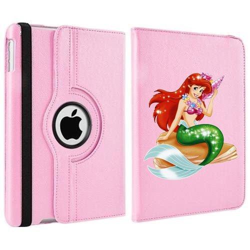 personalizado-princesa-ariel-disney-funda-giratoria-para-apple-ipad-mini-12-3-4-rosa-claro