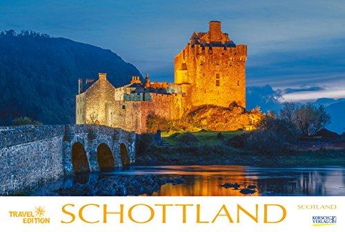 Schottland 2019: Großer Foto-Wandkalender mit Bildern aus Britannien. Travel Edition mit Jahres-Wandplaner. PhotoArt Panorama Querformat: 58x39 cm.