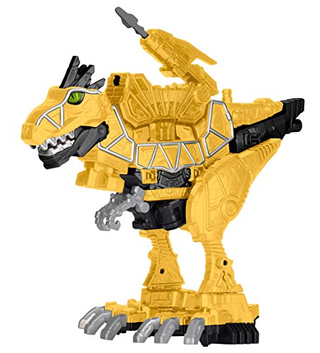 Power Rangers: Dino Super Charge – T-Rex Zord Deluxe – Figurine 23 cm + 1 Dino Charger