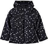 NAME IT Mädchen Winterjacke Parka Steppjacke 13158435 Sky Captain Gr.140