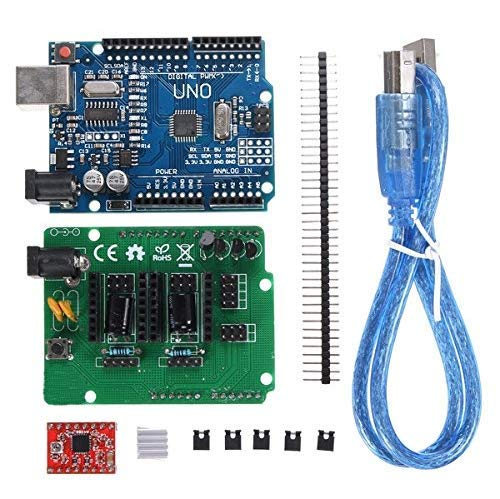 MYAMIA Geekcreit Uno R3 Board Zum Scan Shield Extension Open Source Kit DIY Ciclop 3D Printer Scanner