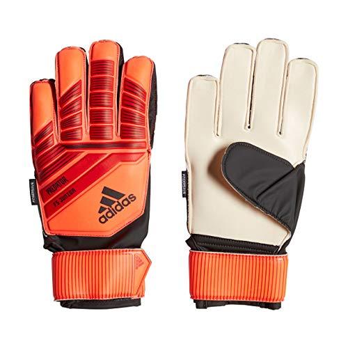 adidas PRED TTRN J FS Soccer Gloves, Active Solar red/Black, 5