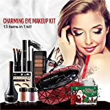 Weihnachten Augen Schatten Make-up Kosmetik Set Mixed Kit Bundle Lucky Dip Geschenk Tasche 13 Stück Weihnachtsgeschenke für Frauen/Laddies / Girls