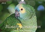Blaustirnamazonen - Papageien in Paraguay (Wandkalender 2018 DIN A4 quer): Zahm, aber frei! (Monatskalender, 14 Seiten ) (CALVENDO Tiere) [Kalender] [Apr 01, 2017] Schneider, Bettina - Bettina Schneider