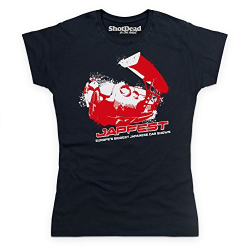 Japfest 2016 T-Shirt, Damen Schwarz