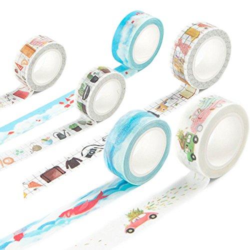 washi-tape-set-masker-tape-art-crafty-rollen-dekorieren-basic-classic-diy-papier-klebeband-15-mm-x-7