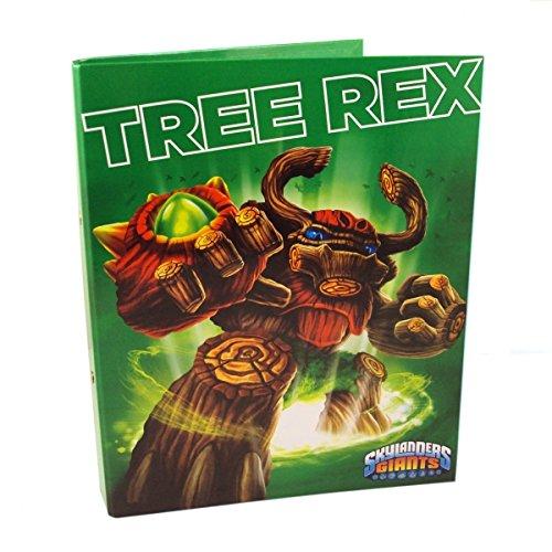 Skylanders Giants Ordner A4Ring Binder Kinder Jungen Mädchen Schule Stationery grün braun Baum Rex Hartschale