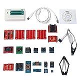 Signstek Universal USB TL866CS Universal Programmer + 21 Adapter + 21 IC Clip Klemme, AVR PIC Bios MCU Flash EPROM Programmierer