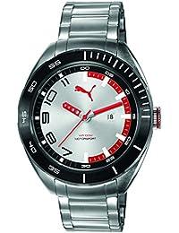Puma Time Herren-Armbanduhr Octane II Analog Quarz Edelstahl PU103951004