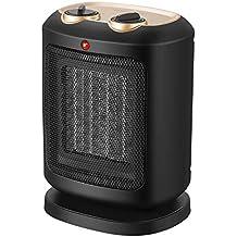 COMLIFE Calefactor Cerámico PTC 900W / 1800W, Ventilador de Calentacdor Eléctrico de Aire Caliente para