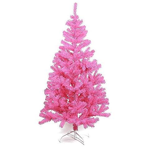 HAB & GUT (XM066) künstlicher Weihnachtsbaum / farbiger Tannenbaum PINK