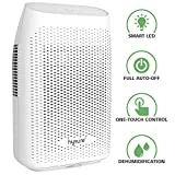 hysure Portable Dehumidifier for Home, 2000ml Powerful Electric Dehumidifier for Bedroom Air Dehumidifier Low Energy for Window Bathroom Wardrobe Laundry Caravan (White Color)