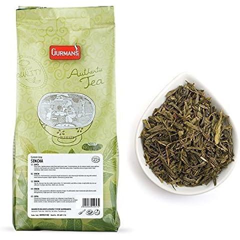 Giapponese Sencha Tè Verde Gurman's - Foglie Di Tè Sfuso