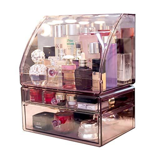 Maquillage Organisateur Main Edge Maquillage Brosse Titulaire Maquillage Brosses de Stockage Cosmétique Maquillage Vanity Décoration Boîte À Bijoux avec Couverture