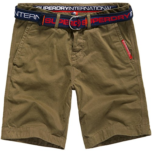 Superdry Herren Shorts International olive (403)