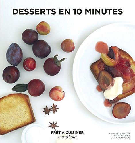 Desserts en 10 minutes