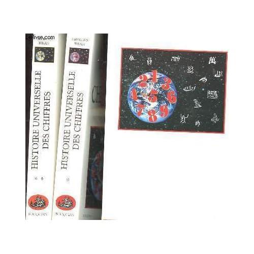 HISTOIRE UNIVERSELLE DES CHIFFRES COFFRET 2 VOLUMES