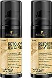 Schwarzkopf - Retouche Racines - Spray Masquant Racines - Blond Clair - Lot de 2