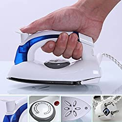 VelVeeta Brand New Travel Folding Handel Portable Powerful Mini Electrical Steam Iron Press