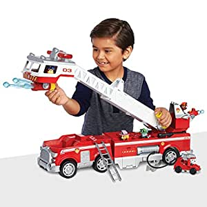 PAW Patrol — Ultimate Rescue Fire Truck with Extendable 2ft Ladder, for Ages 3 and Up