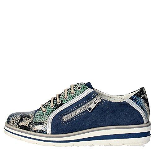 Trivict L155-S16136-F Sneakers Donna Camoscio BLU BLU 41