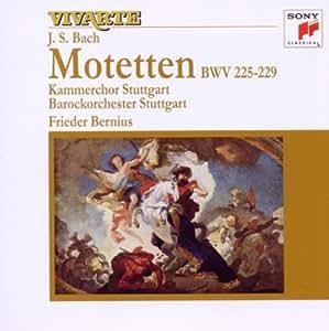 Bach J.S: Motets Bwv 225-229