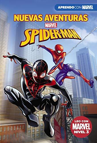 Nuevas aventuras de Spider-Man (Leo con Marvel - Nivel 3): Una noche muy extraña   Spider-Men   A la caza de Black Panther   ¡Veo manchas!