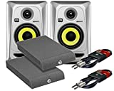 Best KRK Studio Monitors - KRK Rokit RP4 G3 Silver Active Studio Monitors Review