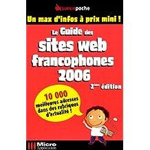 Le guide des sites Web francophones