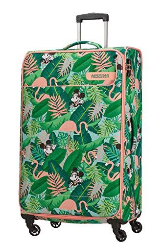 American Tourister Funshine Disney Bagaglio a Mano, 79 cm, 99.5 liters, Multicolore (Minnie Miami Palms)