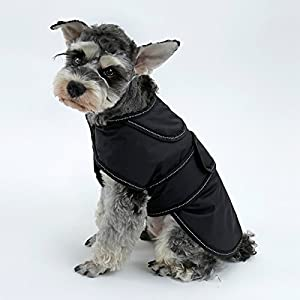 Eono-Dog-Coat-Warm-Dog-Apparel-Detachable-Fleece-Lining-Waterproof-Winter-Jacket-Cold-Weather-Clothe-Adjustable-Vest-for-Small-Medium-Large-Dogs-with-Reflective-Strip