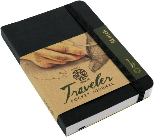 pentalic-traveller-journal-a-croquis-de-poche-noir-6-inches-x-4-inches