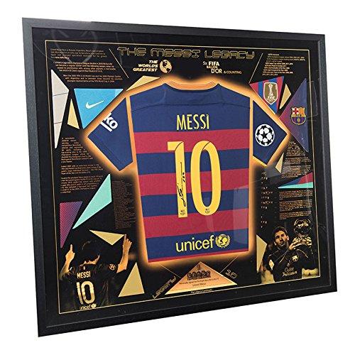 Signed-Lionel-Messi-Shirt-Montage-Exclusive-Framed-LED-Barcelona-Legacy