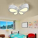 Maerye Kinder Zimmer Lampe Schlafzimmer Deckenleuchte LED Kreative Schmetterlings Lampe 50 * 50 * 10 cm Verstellbare Deckenleuchte