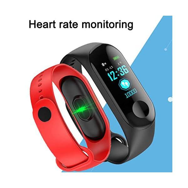 GULEHAY M3 Smart Fitness Tracker, Reloj de Actividad Impermeable con presión Arterial, Monitor de frecuencia cardíaca… 7