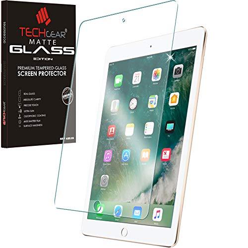 TECHGEAR iPad Air 9,7, Air 2, iPad 6 Matt Panzerglas - Matte Blendschutz Panzerglas Auflage, Original-gehärtetes Glas-Displayschutzfolie kompatibel mit Apple iPad 9,7 Air 9,7, Air 2 (Die Screen Air Besten Ipad Protector)