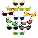 Kinder-Brille Sonnen-Brille Retro Wayfarer Nerd-Brille Vintage Unisex Kunststoff
