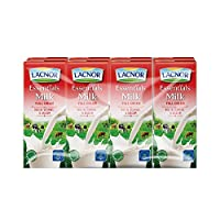 Lacnor Milk Full Cream - 180 ml x 8