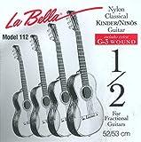 Labella FG112 Jeu de Cordes pour Guitare Classique 1/2 53 cm