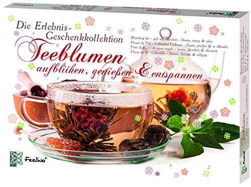 Feelino Teeblumen Geschenk-Kollektion, Adventskalender