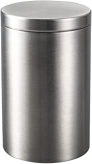 IMEEA Cigarette Container Small Storage Canister for Tea, Coffee Bean, Sugar, Spice, Cotton Swabs Stick, SUS304 Stainless Ste
