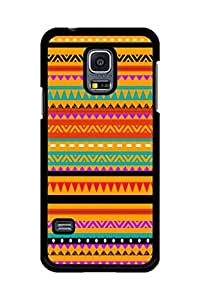 Caseque Tribal Aztec V Back Shell Case Cover for Samsung Galaxy S5 Mini