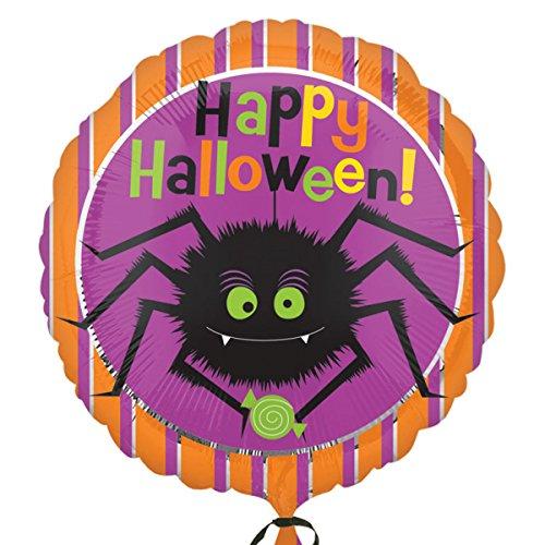 Amscan International 7.967.474,5cm Halloween-Spider Folie Ballons (Standard)