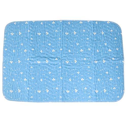 Wasserdichte Wiederverwendbare Inkontinenz-Bett-Auflagen Waschbare Inkontinenz Underpads 8 Schalen-Saugfähigkeit, Rutschfeste Matratzenschoner Für Erwachsene, Kinder Und Haustiere,90×150Cm