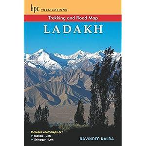 Trekking & Road Map of Ladakh