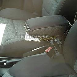 Fahrzeugspezifisch Mittelarmlehne // Mittel-Armlehne mit klappbarem staufach // Mittel-konsole Farbe: SCHWARZ Bezug: Stoff//Textil