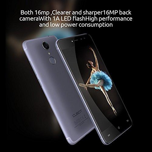 CUBOT Note Plus 2017  - Smartphone Libre 4G Android 7 0   Pantalla t  ctil 5 2  HD  2800mAh bater  a  3GB Ram   32GB ROM  Quad core  Dual SIM  C  mara