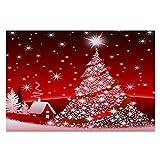 Frohe Weihnachten Willkommen Fußmatten Indoor Home Teppiche Decor 40x60CM YunYoud Eingangstür Weihnachtsmatte Türmatte Schlafzimmer Tür Küche Badezimmer Anti-Rutsch-Matte