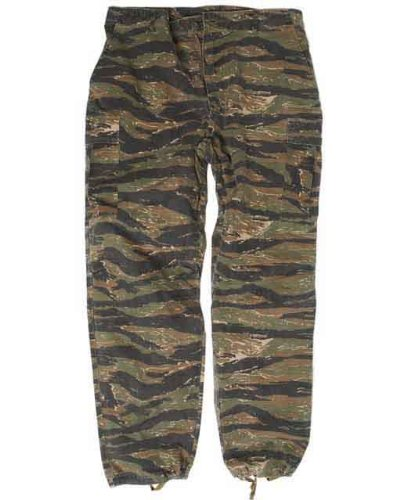 US Jungle Pants Vietnam Tiger Stripe Gr.L (Tiger Stripe Vietnam)